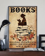 BOOK READING BOOKS HELPING INTROVERTS AVOID 11x17 Poster lifestyle-poster-2