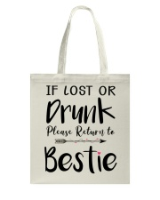 Wine If Lost Or Drunk Tote Bag thumbnail