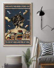 And Into The Book Store I Go 11x17 Poster lifestyle-poster-1