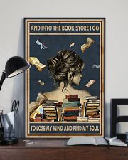 And Into The Book Store I Go 11x17 Poster lifestyle-poster-2