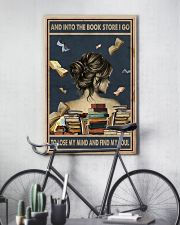 And Into The Book Store I Go 11x17 Poster lifestyle-poster-7