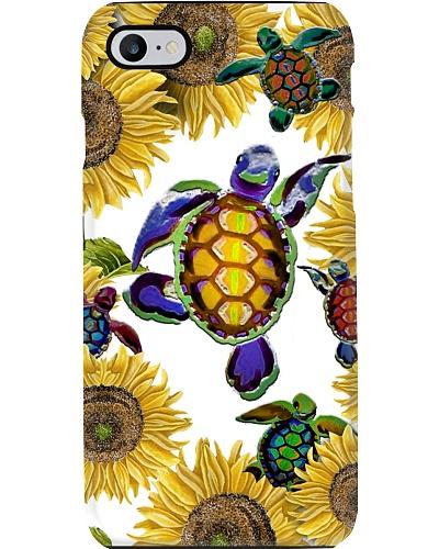 Turtle Phonecase Sunflower