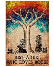 Book And She Lived Happily 11x17 Poster front