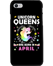Unicorn Queens Are Born In April Phone Case thumbnail