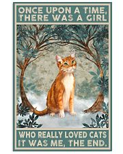 Cat Once Upon A Time Poster 11x17 Poster front