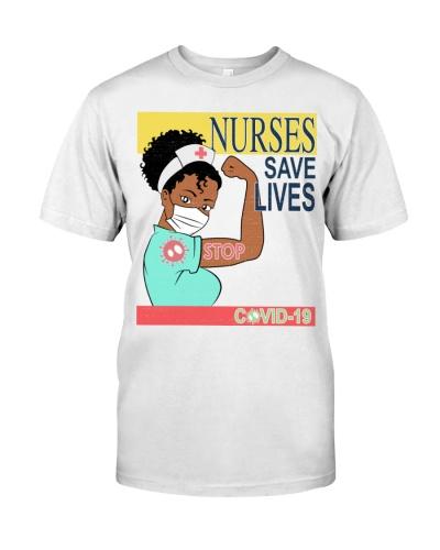 Nurses Save Life Black
