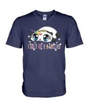 I WANT TO BE A UNICORN V-Neck T-Shirt thumbnail