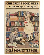 More Books At Home 11x17 Poster front
