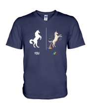 UNICORN YOU AND ME V-Neck T-Shirt thumbnail
