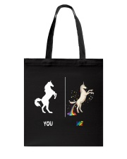 UNICORN YOU AND ME Tote Bag thumbnail