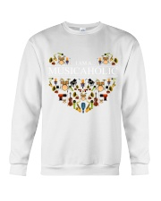Music - I am a musicaholic Crewneck Sweatshirt front