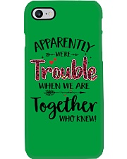 Right Trouble Wine Phone Case thumbnail