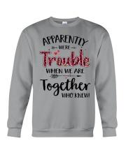 Right Trouble Wine Crewneck Sweatshirt thumbnail