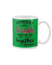 Right Trouble Wine Mug thumbnail