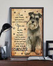 SCHNAUZER I AM YOUR SCHNAUZER POSTER 11x17 Poster lifestyle-poster-2
