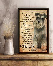 SCHNAUZER I AM YOUR SCHNAUZER POSTER 11x17 Poster lifestyle-poster-3