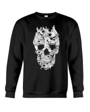 SD skull Crewneck Sweatshirt thumbnail