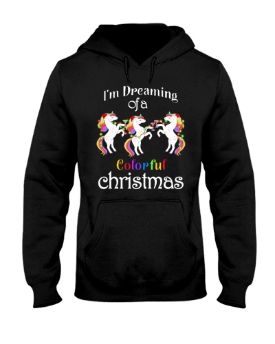 Unicorn Colorful Christmas