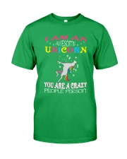 I am an awesome unicorn Classic T-Shirt front