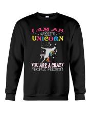 I am an awesome unicorn Crewneck Sweatshirt thumbnail