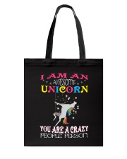 I am an awesome unicorn Tote Bag thumbnail