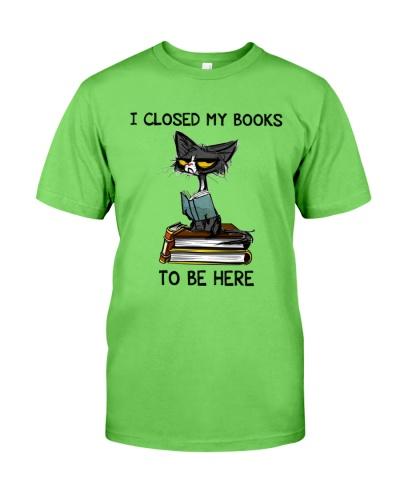 Book I Closed My Books