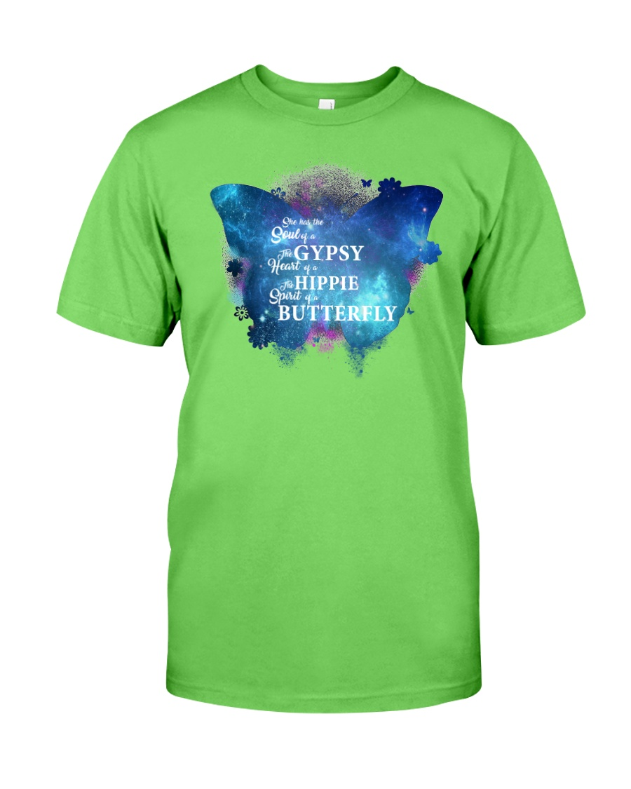 I HAVE THE SPIRIT OF A BUTTERFLY Classic T-Shirt