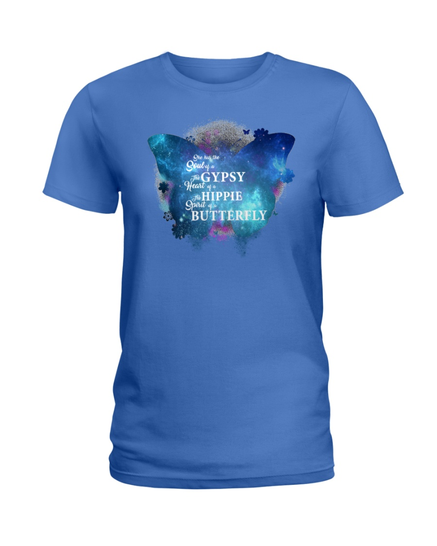 I HAVE THE SPIRIT OF A BUTTERFLY Ladies T-Shirt
