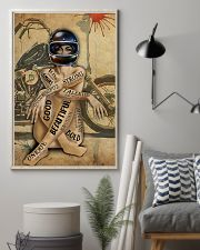 MOTORCYCLE STRONG BEAUTIFUL UNIQUE GOD SAYS I AM 11x17 Poster lifestyle-poster-1