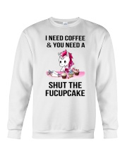 Unicorn Fucupcake Crewneck Sweatshirt thumbnail