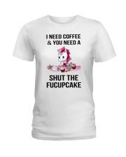 Unicorn Fucupcake Ladies T-Shirt thumbnail