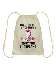 Unicorn Fucupcake Drawstring Bag thumbnail