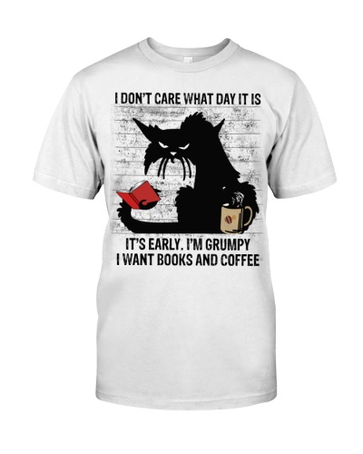 Grumpy Want Coffee And Books