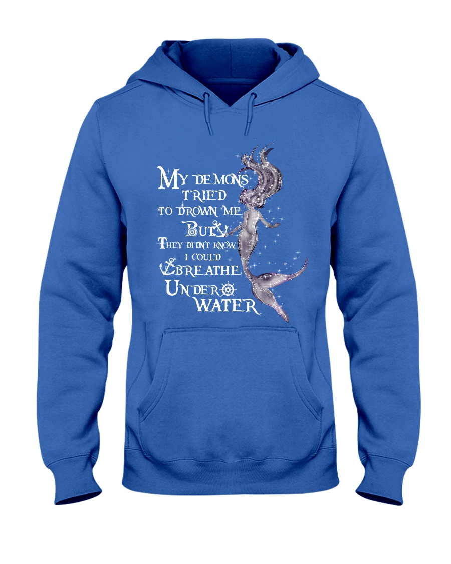 Mermaid Breath Hooded Sweatshirt