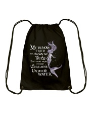 Mermaid Breath Drawstring Bag thumbnail