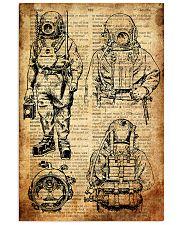 Scuba Diving Retro Poster 3 16x24 Poster front