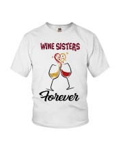 Wine Sisters Youth T-Shirt thumbnail