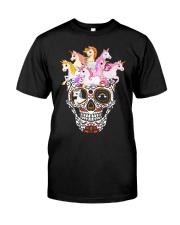Unicorn Skull Classic T-Shirt thumbnail