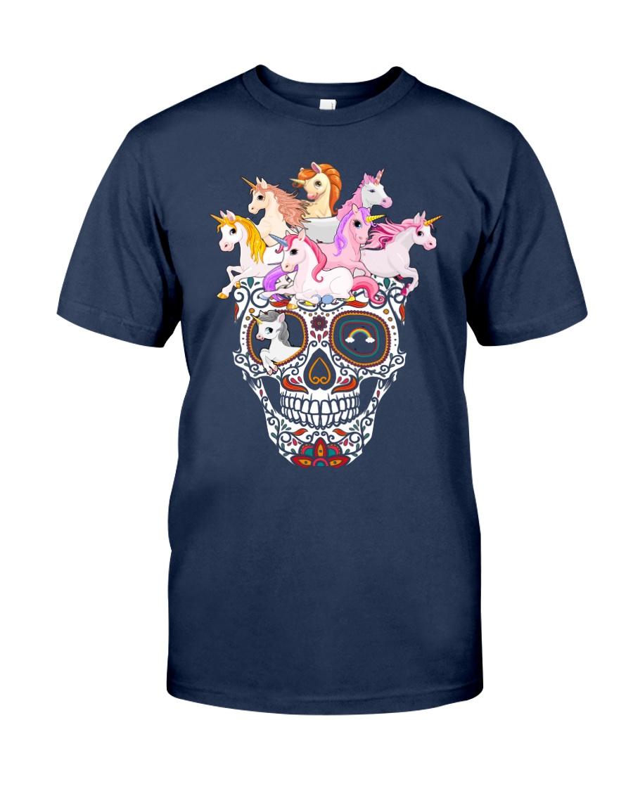 Unicorn Skull Classic T-Shirt