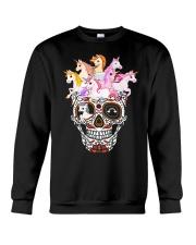 Unicorn Skull Crewneck Sweatshirt thumbnail