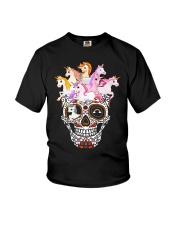 Unicorn Skull Youth T-Shirt thumbnail
