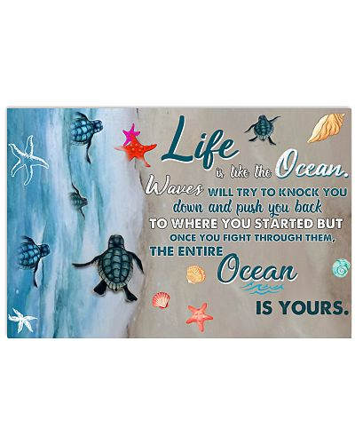 Turtle Life Is Like The Ocean