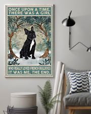 French Bulldog Black Once Upon A Time  11x17 Poster lifestyle-poster-1