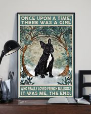 French Bulldog Black Once Upon A Time  11x17 Poster lifestyle-poster-2