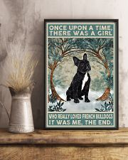 French Bulldog Black Once Upon A Time  11x17 Poster lifestyle-poster-3