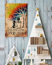 Dog Once Upon A Time A Girl Loved Dogs 11x17 Poster lifestyle-holiday-poster-2