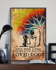 Dog Once Upon A Time A Girl Loved Dogs 11x17 Poster lifestyle-poster-2