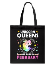 Unicorn Queens Are Born In February Tote Bag thumbnail