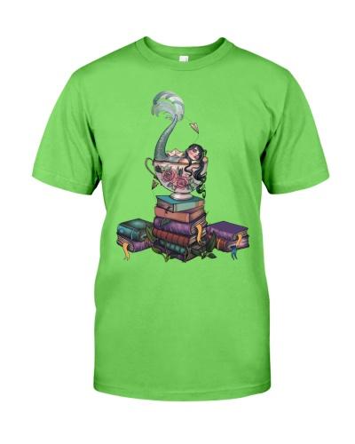 Books Mermaid Tea Cup