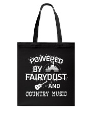 Powered By Country Music Tote Bag thumbnail